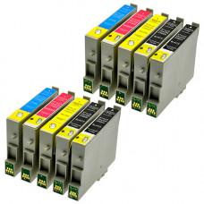Multipack 10 Cartucce Epson T1631XL T1632XL T1633XL T1634XL